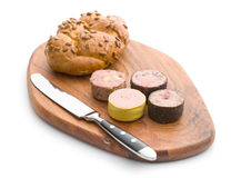 Meat pate with different flavors Stock Image