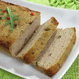 Meat pate. Stock Image