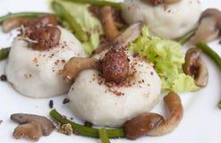 Meat pelmeni Royalty Free Stock Images