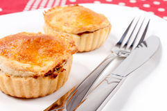 Meat pie Stock Image