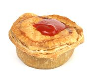 Meat pie Stock Images