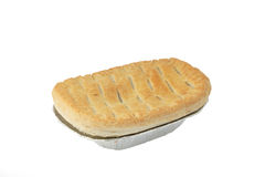 Meat pie. Image of a meat pie isolated on a white background Royalty Free Stock Photography