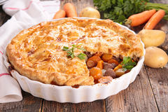 Meat pie Royalty Free Stock Photo