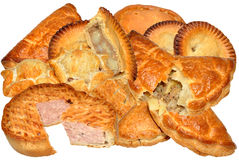 Meat Pie Collection Royalty Free Stock Image