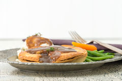 Meat Pie Meal Royalty Free Stock Images