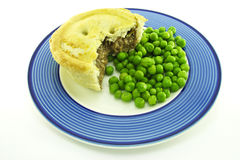 Meat Pie on a Plate Royalty Free Stock Image