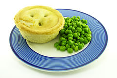 Meat Pie on a Plate Royalty Free Stock Photos