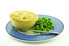 Meat Pie on a Plate Royalty Free Stock Photography
