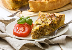 Meat pie Stock Photography