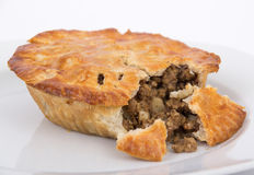 Meat pie tourtiere Royalty Free Stock Photo