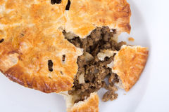Meat pie tourtiere Stock Image