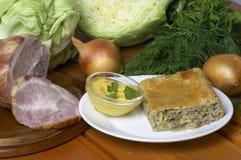 Meat pie Stock Image