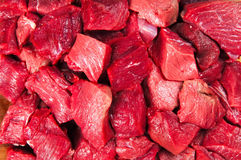 Meat Pieces Royalty Free Stock Photography