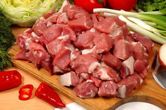 Meat Pieces Royalty Free Stock Image
