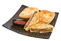 Meat Pies Stock Photo