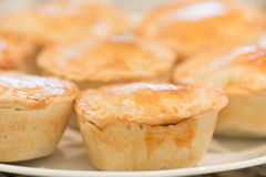 Meat pies royalty free stock photography