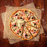 Meat Pizza Royalty Free Stock Photos