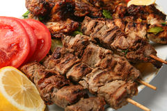 Meat plate Royalty Free Stock Photos