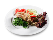 Meat Plate Royalty Free Stock Photography