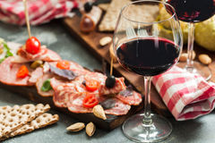 Free Meat Plate And Two Royalty Free Stock Photography - 96376917