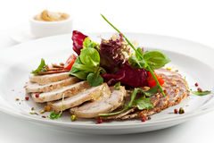 Meat Plate Royalty Free Stock Images