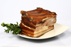 Meat on plate. Different kind of meat on plate Royalty Free Stock Photography