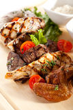 Meat Plate Royalty Free Stock Image