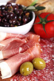 Meat platter 2 Royalty Free Stock Images