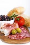 Meat platter Stock Photo