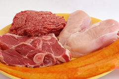 Meat platter Royalty Free Stock Photography
