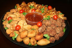 Meat Platter Stock Image