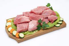 Meat of pork Royalty Free Stock Images