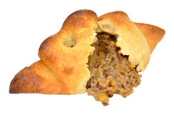 Meat And Potato Filled Pasty Stock Images