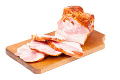 Meat product on cuttingboard Royalty Free Stock Photography