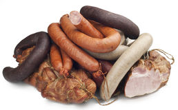 Meat products Royalty Free Stock Photos
