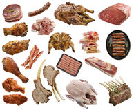 Meat Products Stock Image