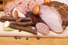 Meat products Stock Photo