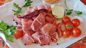 Meat, Prosciutto, Food, Bayonne Ham stock images