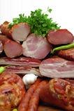 meat rökte Royaltyfri Bild
