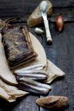 meat rökte Royaltyfria Bilder