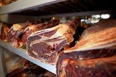 Meat Rack Royalty Free Stock Photos