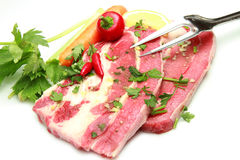 Meat, raw beef stock photography