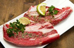 Meat, raw beef stock photo
