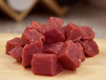 Meat Raw Beef Royalty Free Stock Photo