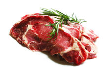 Meat, Raw Steak Stock Photography