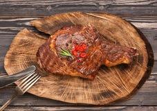 Meat Ribeye steak entrecote. Stock Images