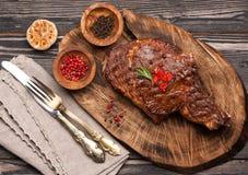 Meat Ribeye steak. Stock Photos