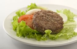 Meat rissole Royalty Free Stock Images