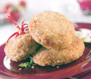 Meat rissoles Royalty Free Stock Images
