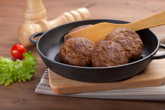 Meat rissoles Royalty Free Stock Photo
